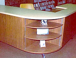 Circulation Desk Rounded