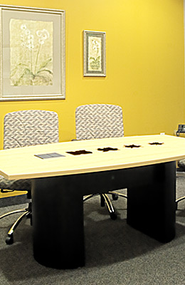Conference Table Goldleaf Plastics