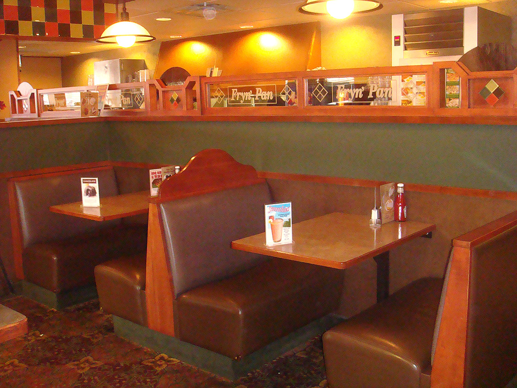 Dining table restaurant booth dining tables for Restaurant table menu